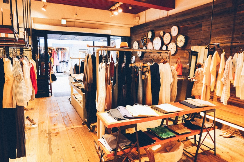 Shimokita Soffitto boutique clothes shop