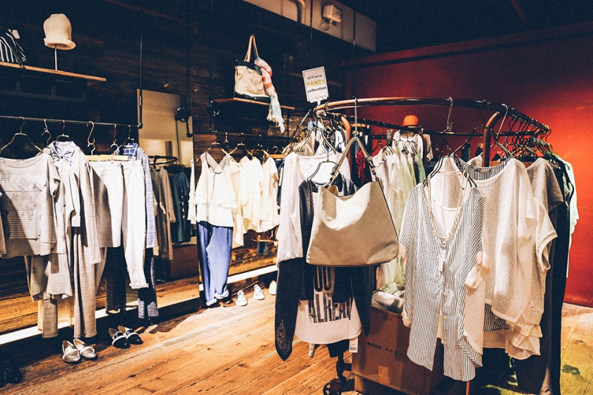 Shimokitazawa Soffitto boutique clothes shop