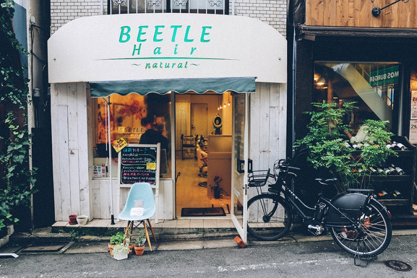 Shimokitazawa beetle hair salon