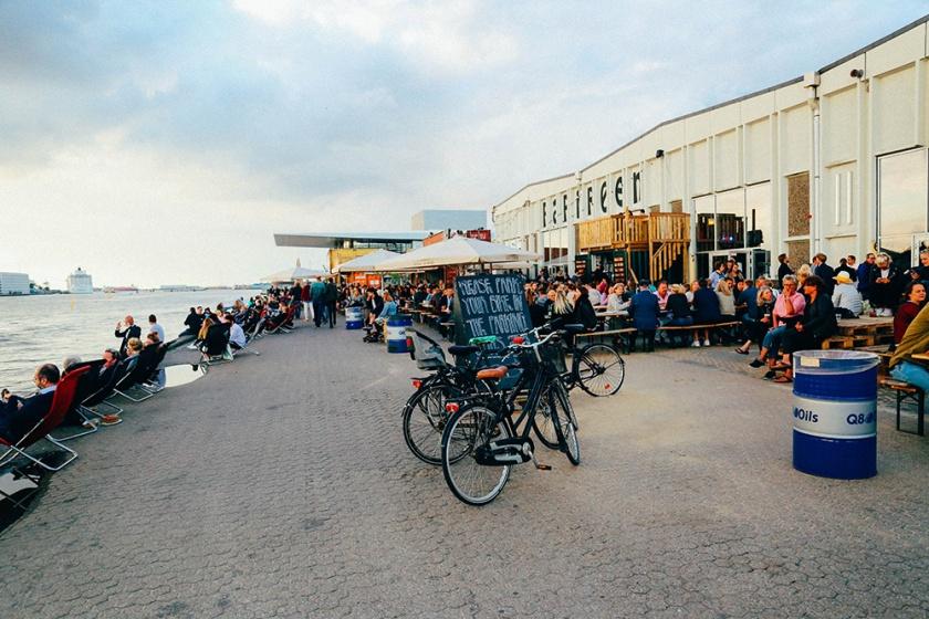 papiroen street food Copenhagen riverside dining