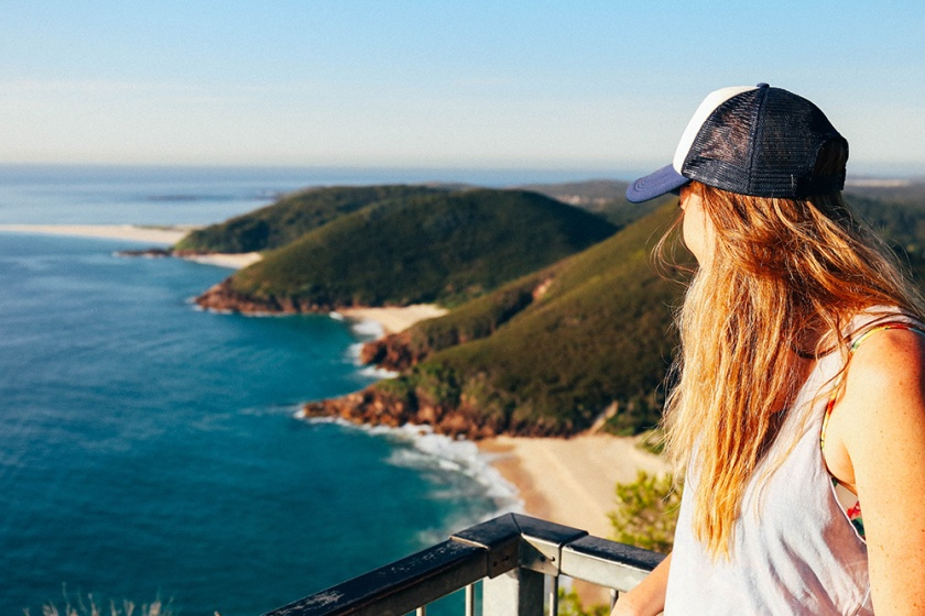 port-stephens Tomaree Head Lookout