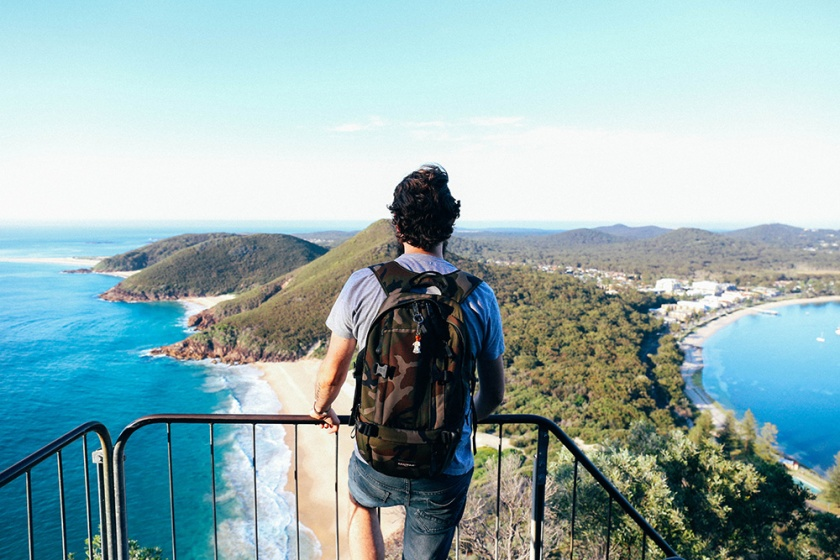 port-stephens mount Tomaree Head lookout