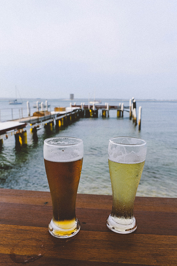 port-stephens Little Beach Boathouse beer cider