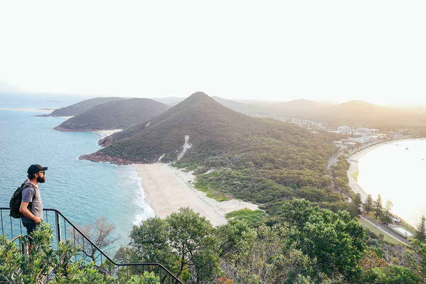 port stephens mount Tomaree head lookout
