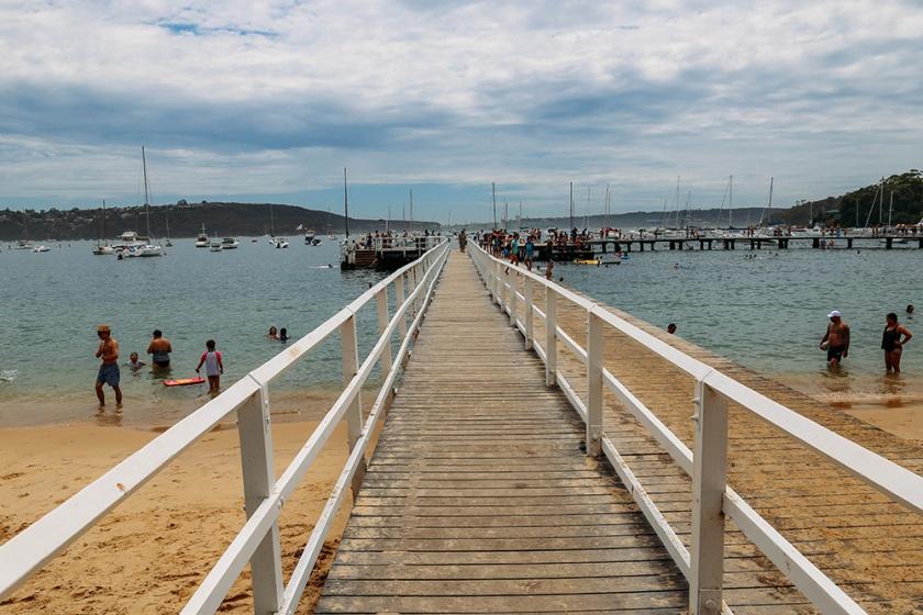 boathouse Balmoral beach