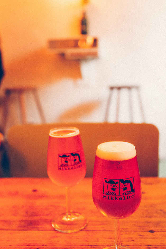 Cool Mikkeller Brewery bar Copenhagen