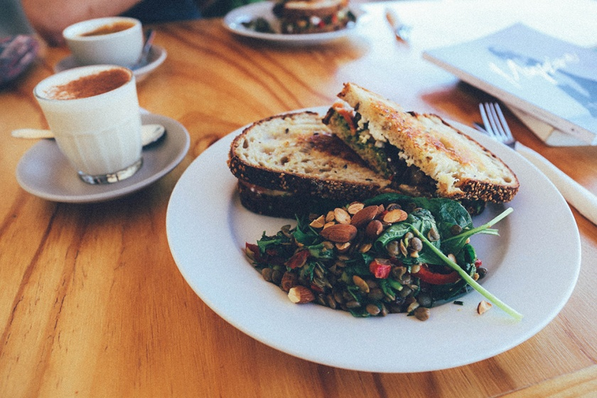 Some Cafe Collector Canberra toastie sandwich