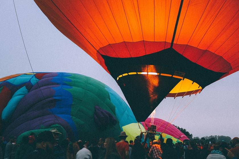 Canberra Balloon Spectacular 2017 inflate 2
