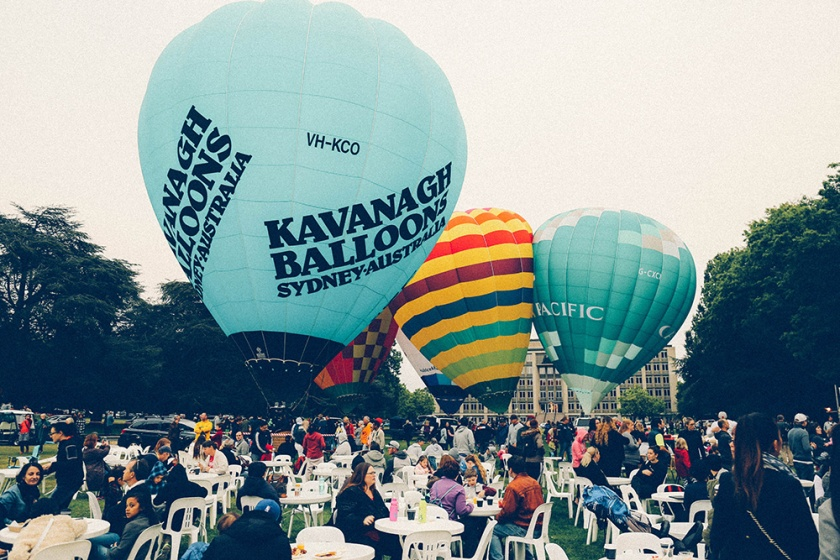 Canberra Balloon Spectacular 2017 inflate 3