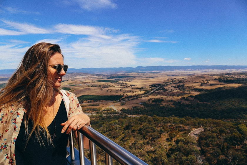 Canberra Telstra Tower Black Mountain Katie Mayor view