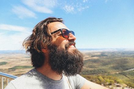 Canberra Telstra Tower Black Mountain Phillip Marsden smile