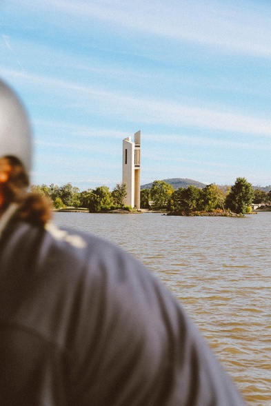 Lake Burley Griffin Canberra monument 2