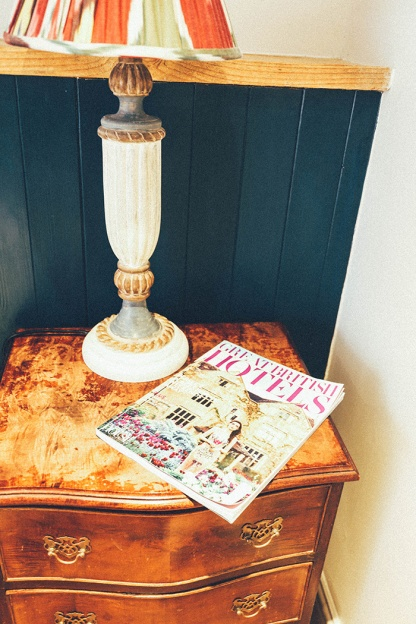 Artists Residence Hotel Penzance Cornwall lamp mag