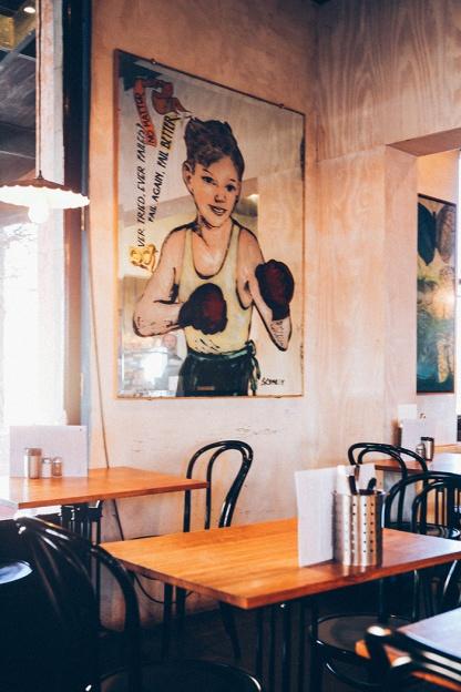 Daylesford food cafe koukla Bromley