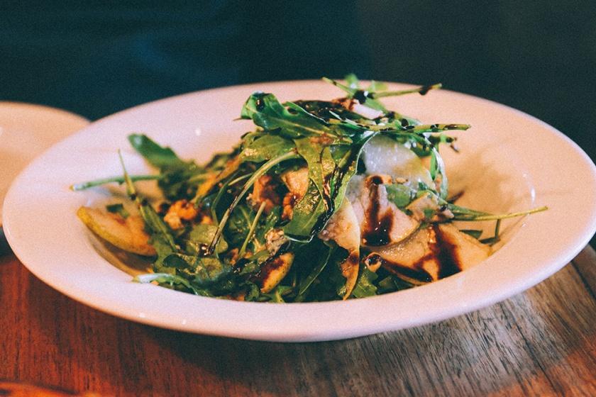 Daylesford food cafe koukla pear salad