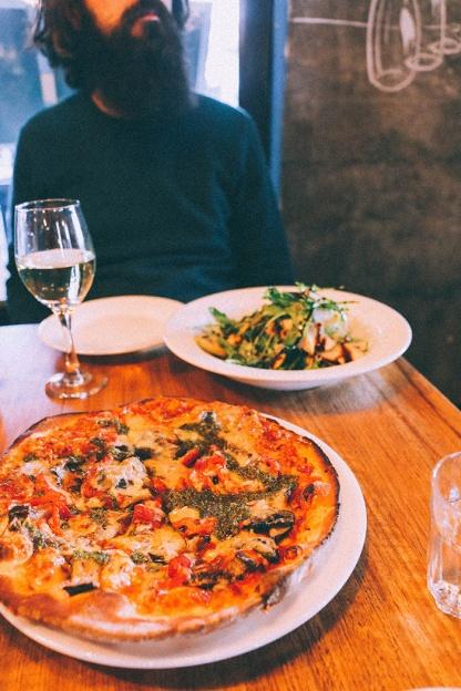 Daylesford food cafe koukla pizza 2