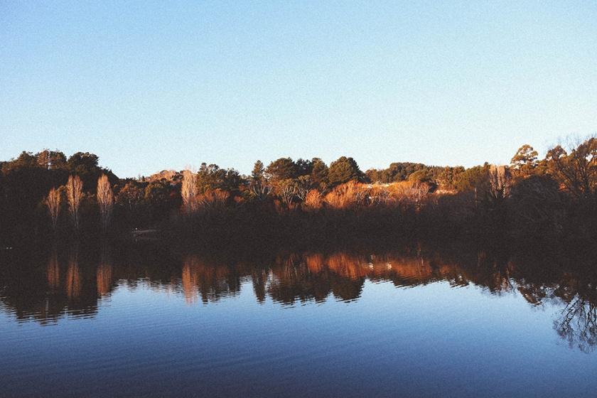 Daylesford Lake sunset Katie Mayor