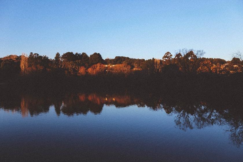 Daylesford Lake sunset Katie Mayor photography