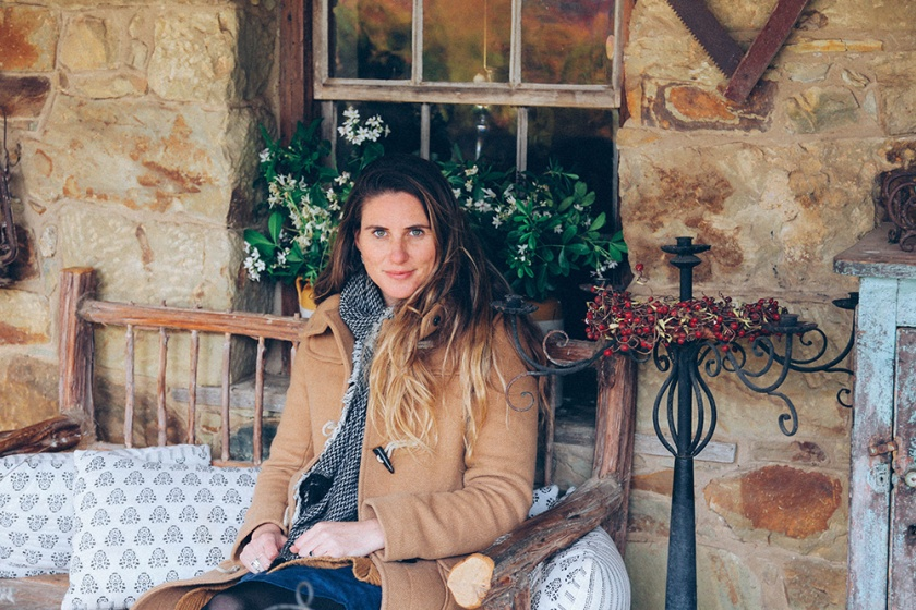 Daylesford Lavandular lavendar farm cosy chair katie mayor