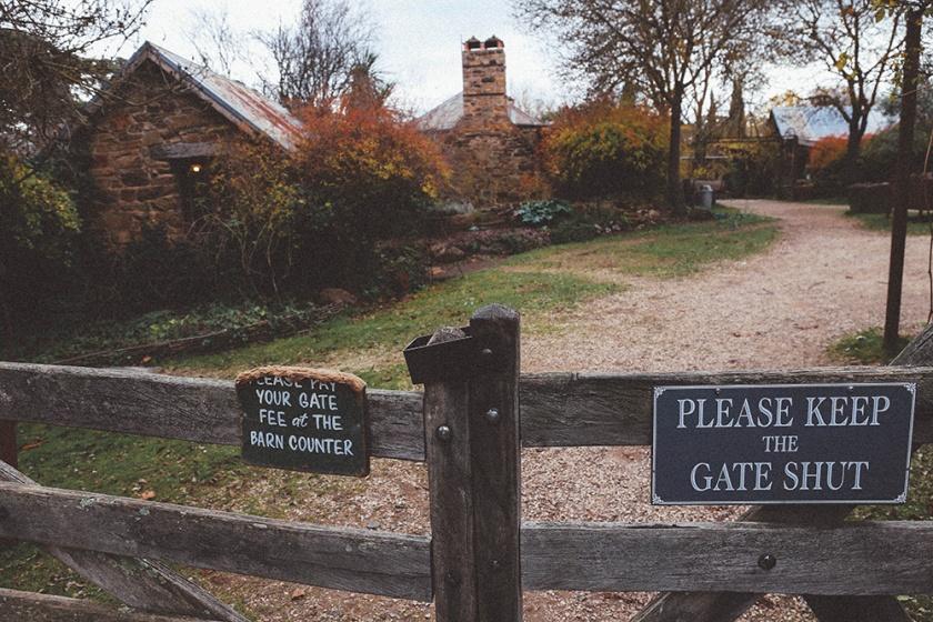 Daylesford Lavandular lavendar farm gate