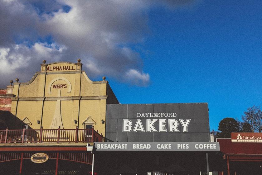 Daylesford Vincent Street bakery