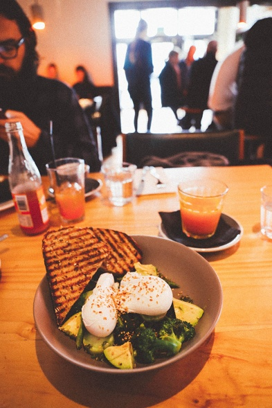 Daylesford Vincent Street Larder Cafe green