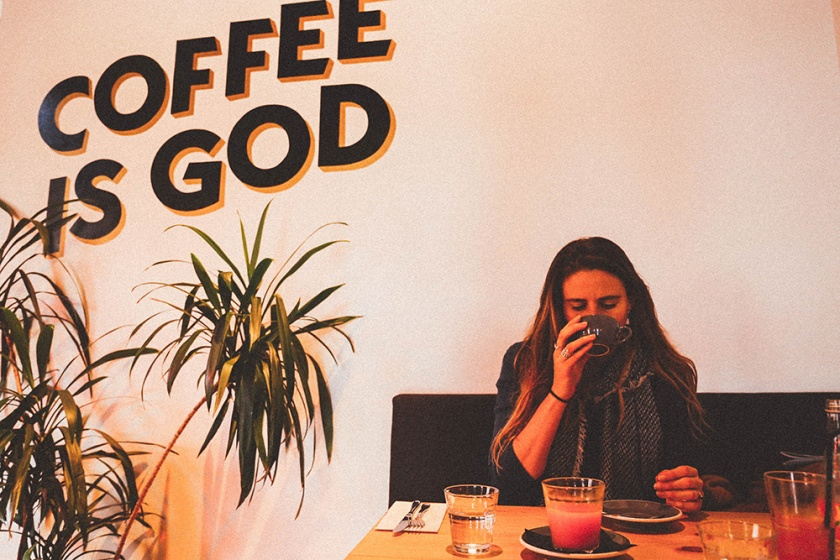 Daylesford Vincent Street Larder Cafe Katie Mayor coffee is God