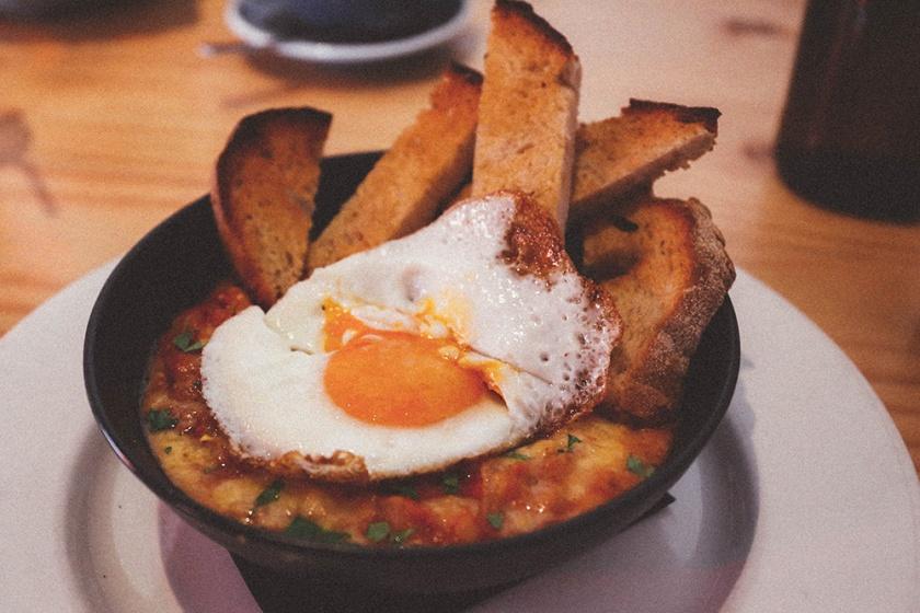 Daylesford Vincent Street Larder Cafe veggie beans