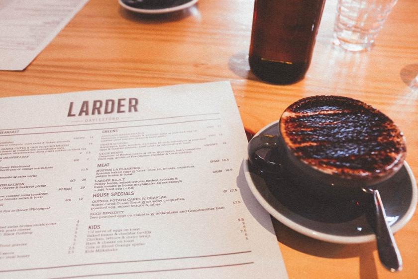 Daylesford Vincent Street Larder Cafe