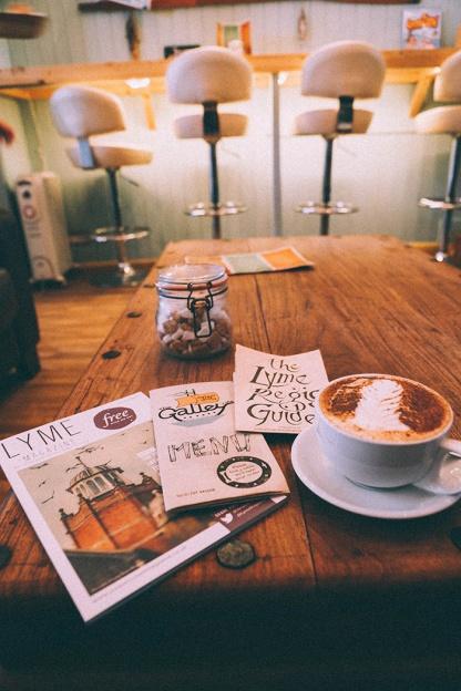 Galley Cafe Broad Street Lyme Regis_