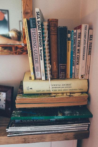 HIX Townhouse Lyme Regis books