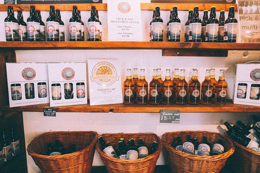 Lyme Regis Brewery Shop