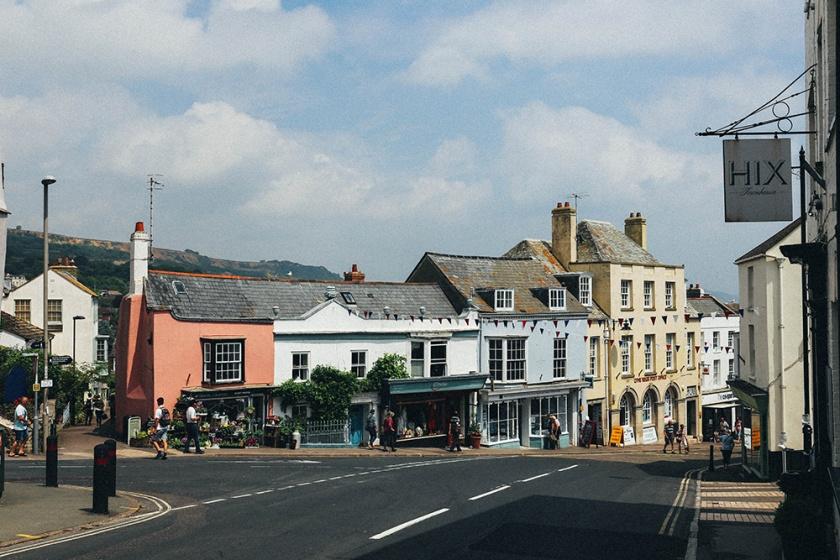 Lyme Regis Broad Street 3