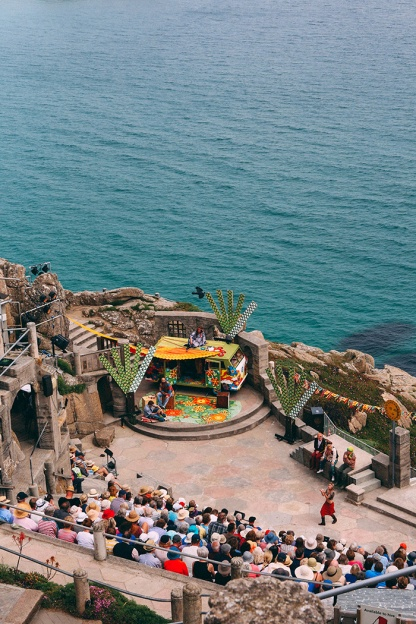 Minack Theatre Cornwall Penzance As You Like It