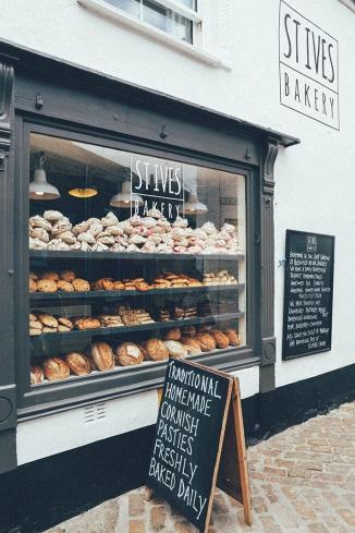 St Ives Cornwall English Coast Bakery