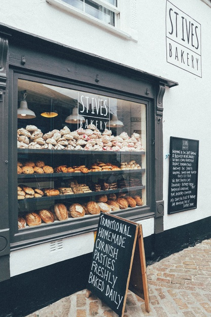 St Ives Cornwall English Coast Bakery
