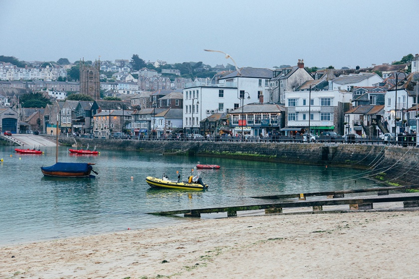 St Ives Cornwall English Coast harbour