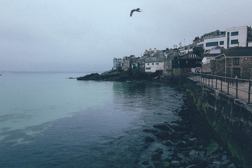 St Ives Cornwall English Coast moody 2