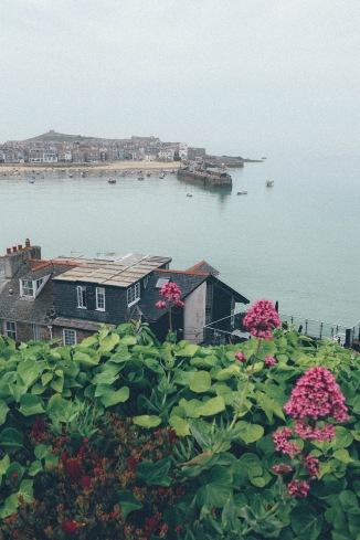 St Ives Cornwall English Coast view 2