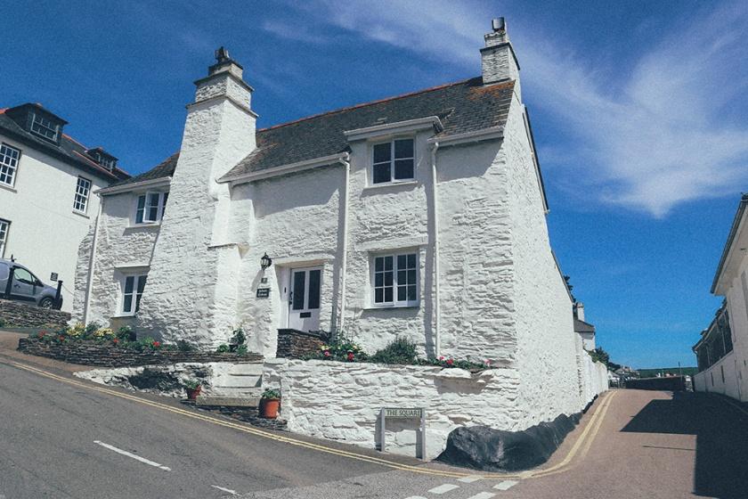 St Mawes Cornwall England Corner House blog