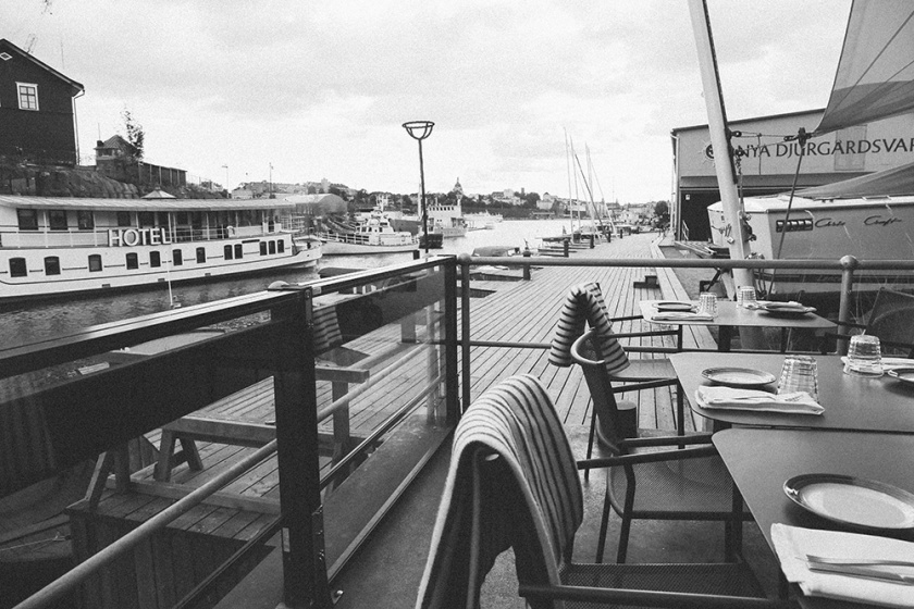 Oaxen Slip Boat Stockholm Best Restaurants balcony