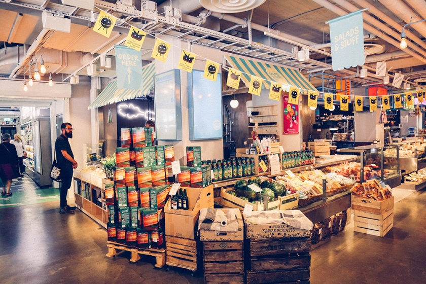 Stockholm Best cafes Urban Deli food markets