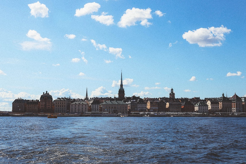 Stockholm from Ferry_