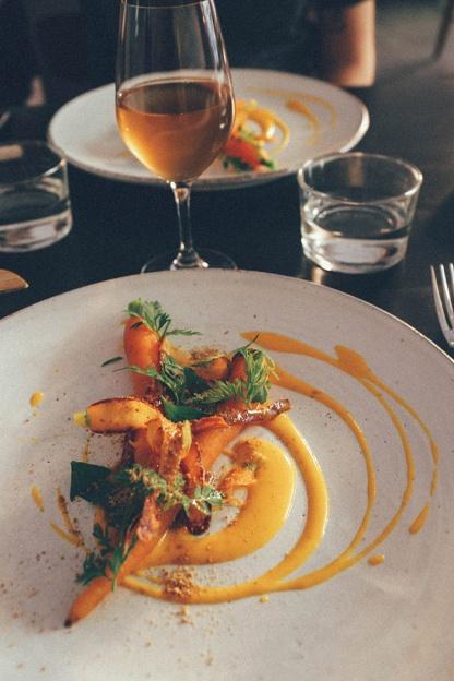 Stockholm Gro Restaurant Vegetarian carrot