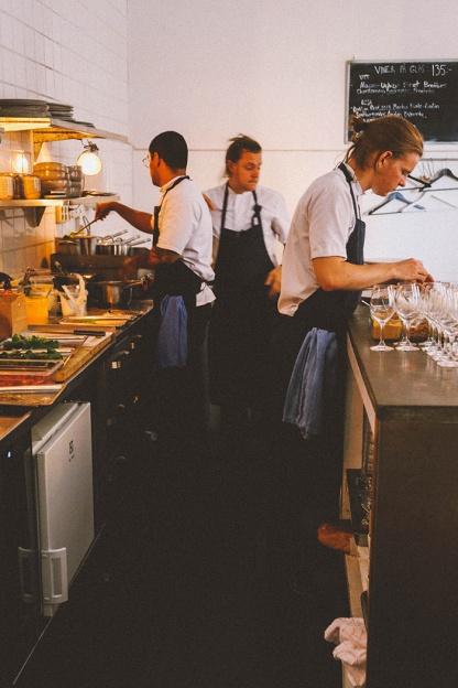 Stockholm Gro Restaurant Vegetarian kitchen