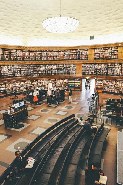 Stockholm Library Stadsbibliotek Books Literary 3