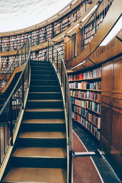 Stockholm Library Stadsbibliotek Books Literary_