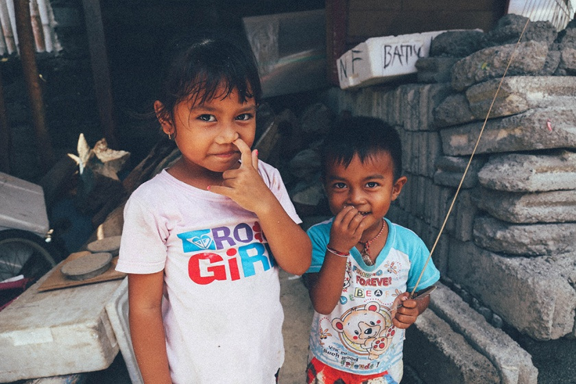 Nusa Lembongan best islands bali indonesia cute kids 3