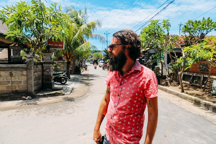 Nusa Lembongan best islands bali indonesia street