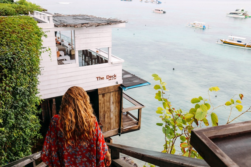 Nusa Lembongan The Deck best places to visit eat bali indonesia